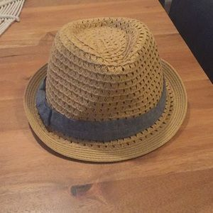Straw fedora from Nordstrom